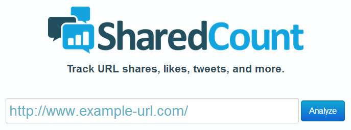 SharedCount  Social URL Analytics